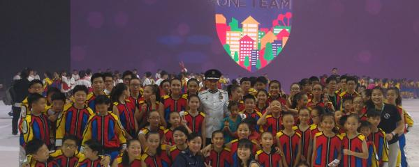 Xuan Sports Athletes at Home Team NS50 Gala Show