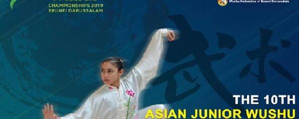 10th Asian Junior Wushu Championships 2019 Poster