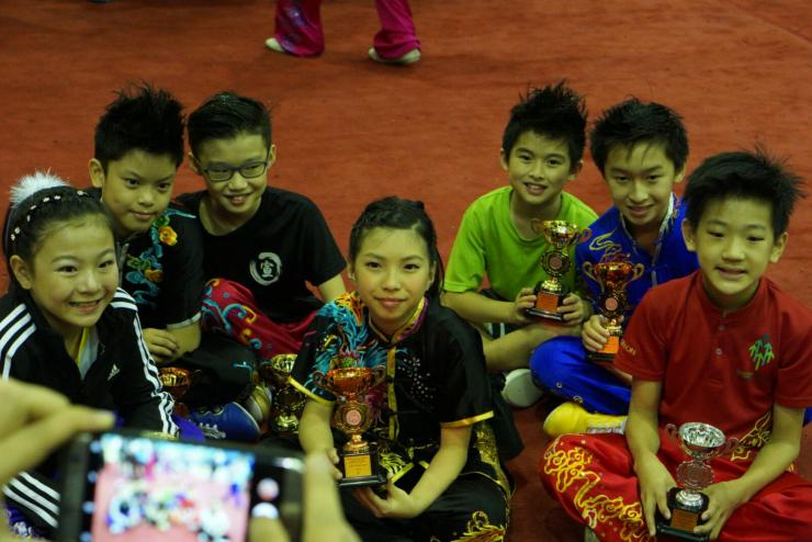 Xuan Sports Wushu medallists