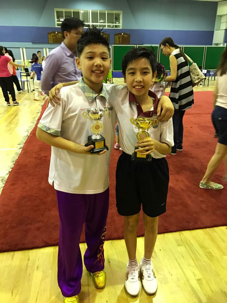 Truman and Isaac - Xuan Sports Wushu medallists