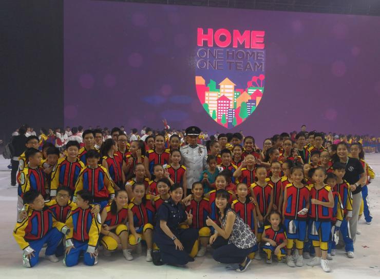 Xuan Sports Athletes at Home Team NS50 Gala Show