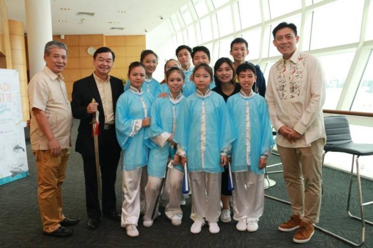 Xuan Sports Taiji Team with Master Tan, Mr Sam & Prof Cai