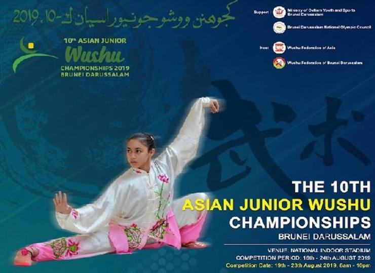 10th Asian Junior Wushu Championships 2019 Poster