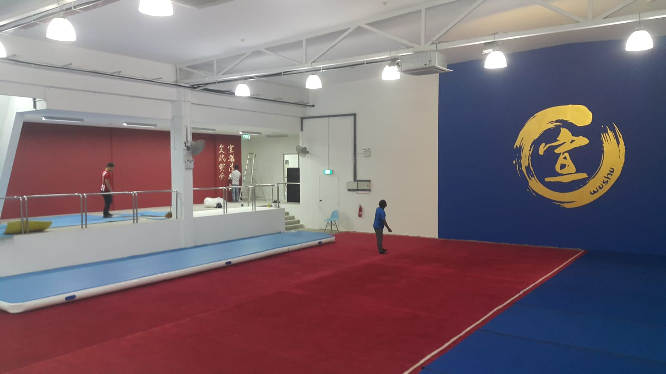 New Xuan Sports headquarters at Bestway Centre