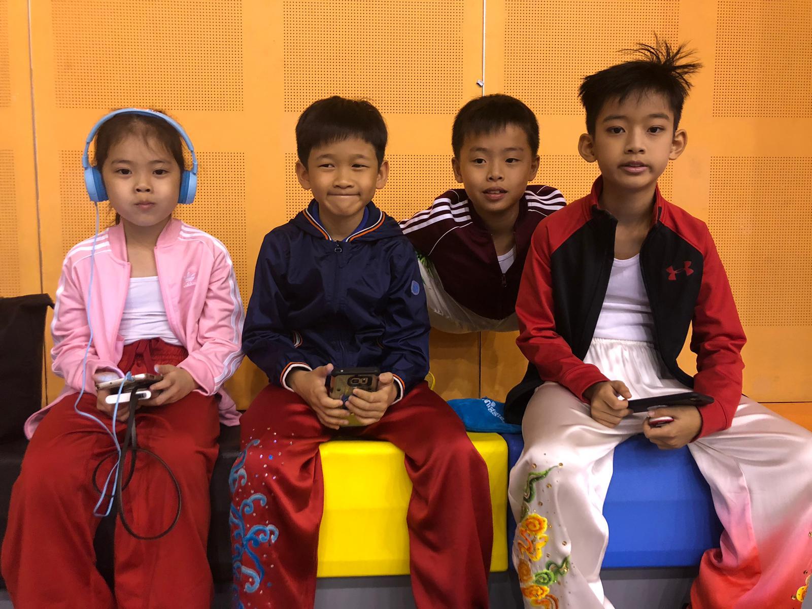 Xuan Sports Athletes - Shelby, Kavan, Dylan, Jovan