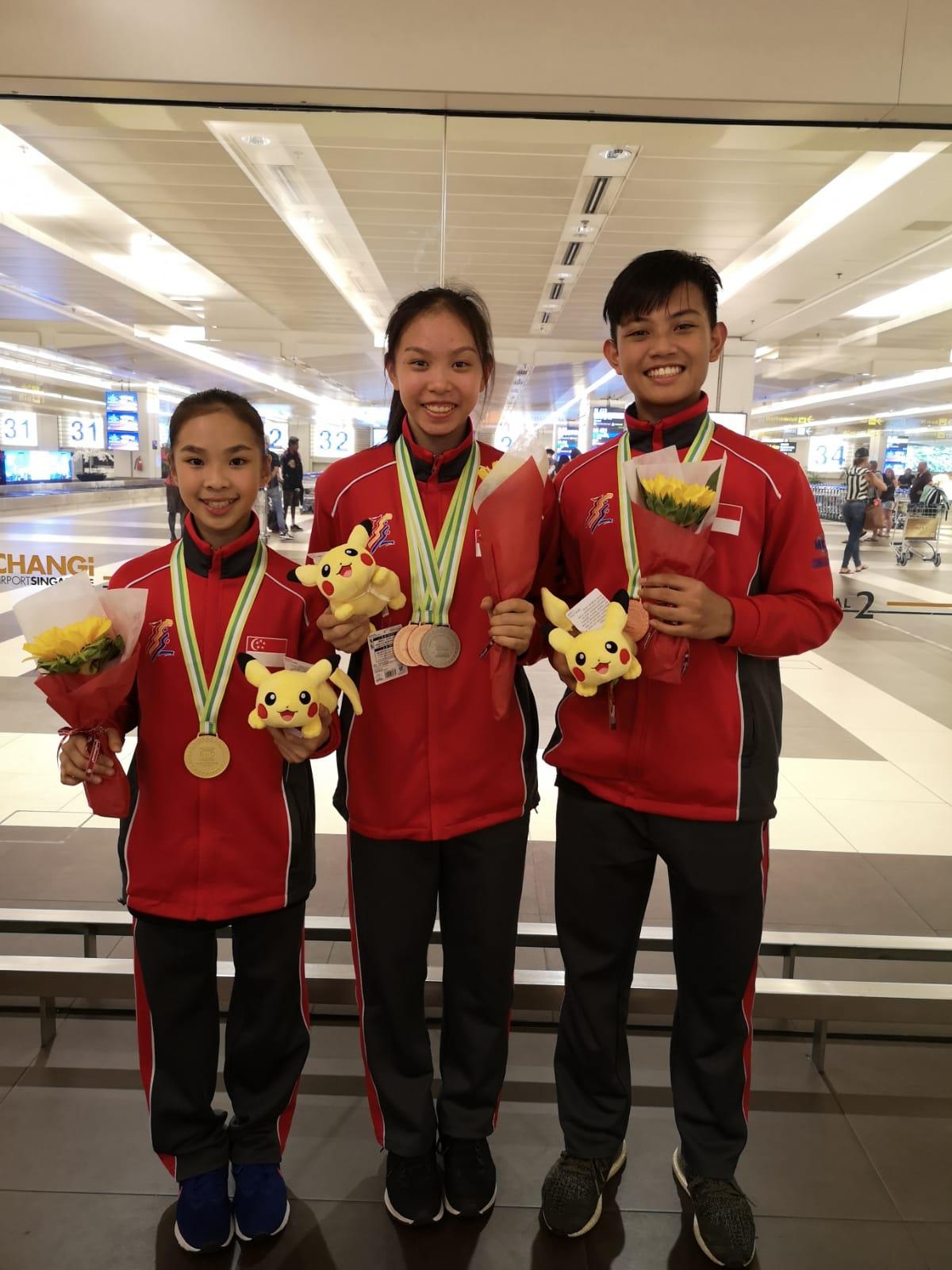 Heidi, Yin Shuen, Nicholas
