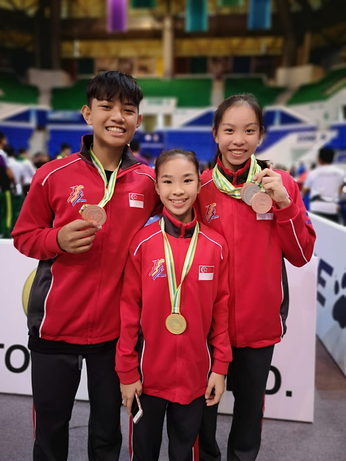 Proud Xuan Sports athletes